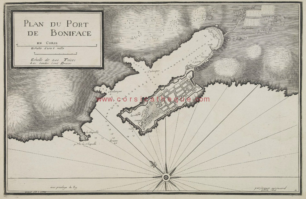 ayrouard j plan du port de boniface bonifacio marseille 1732 1746 cartes anciennes. Black Bedroom Furniture Sets. Home Design Ideas