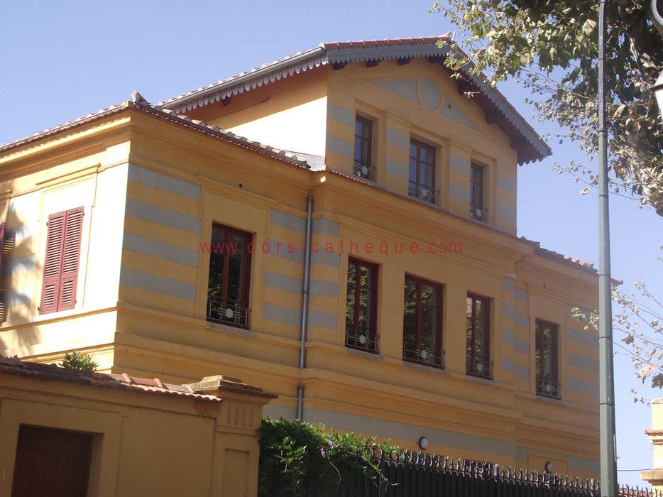 Maisons du quartier des Etrangers à Ajaccio / Divers / Histoire